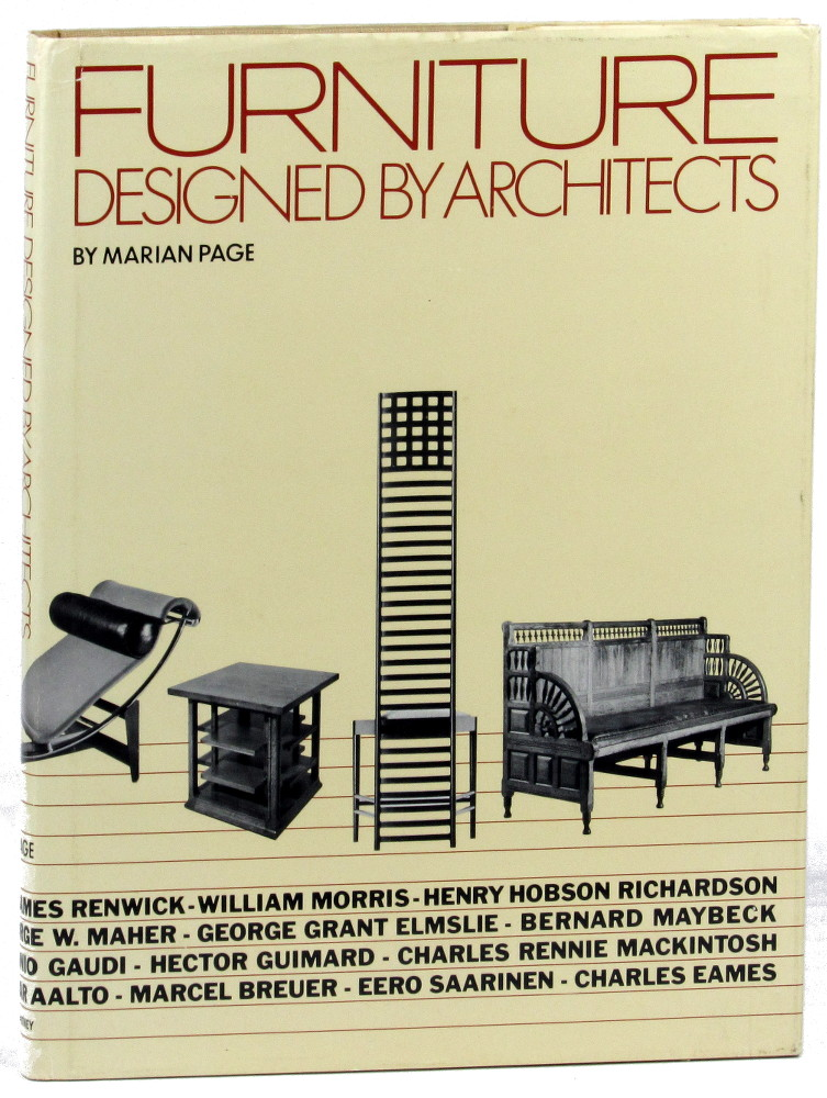 Furniture designed by architects / by Marian Page   Page, Marian (1918-). Auteur