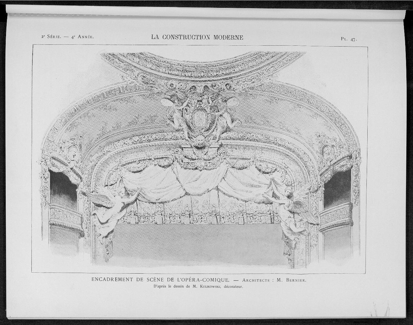 La Construction moderne, no. 23, 1898-1899 |