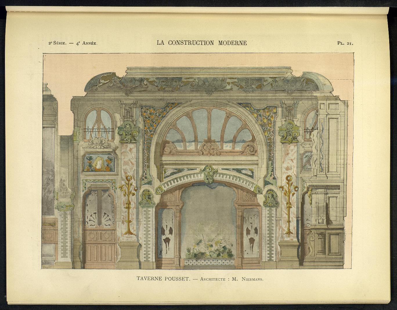 La Construction moderne, no. 24, 1898-1899 |