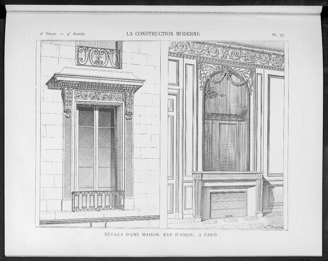 La Construction moderne, no. 28, 1898-1899 |
