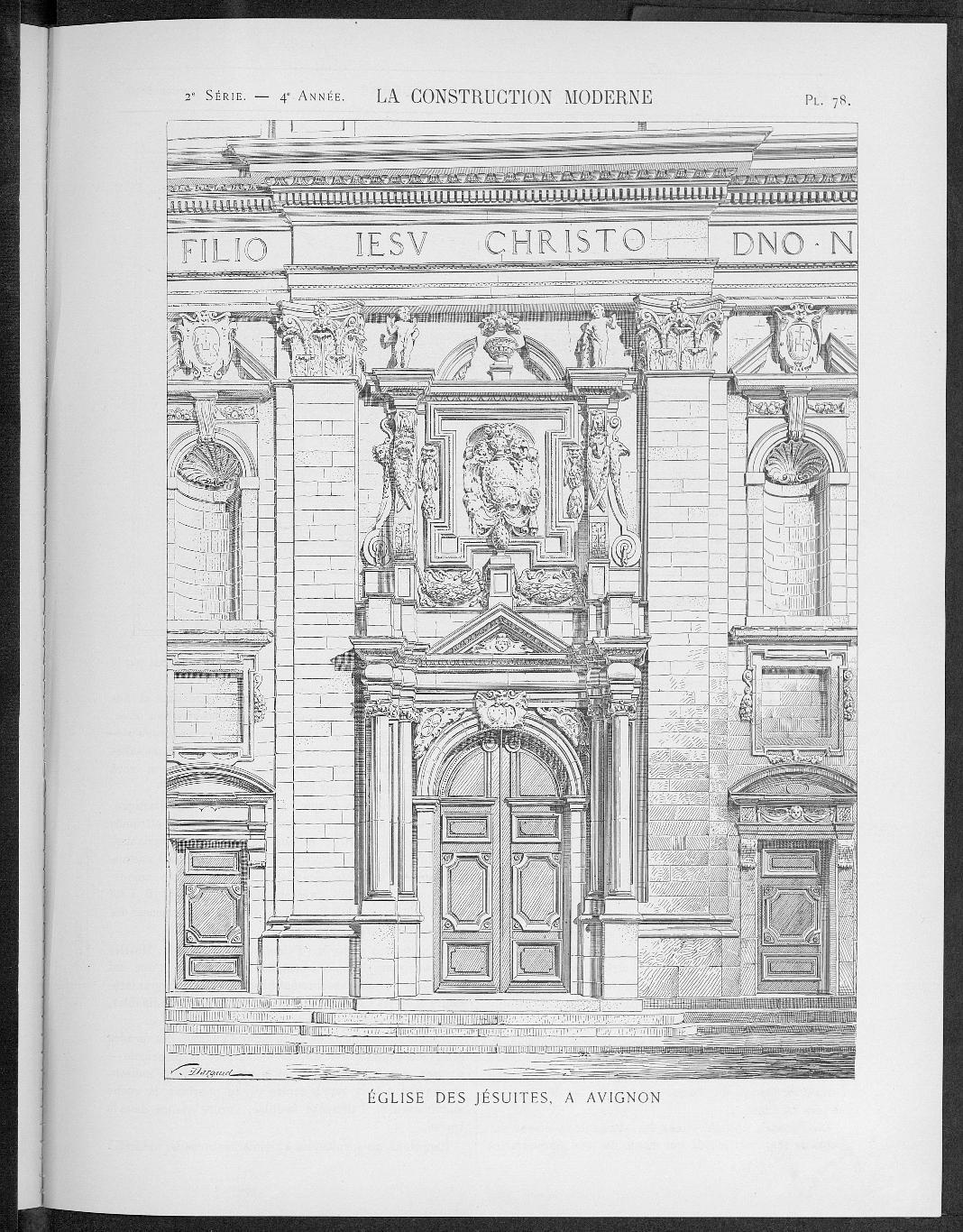 La Construction moderne, no. 41, 1898-1899 |
