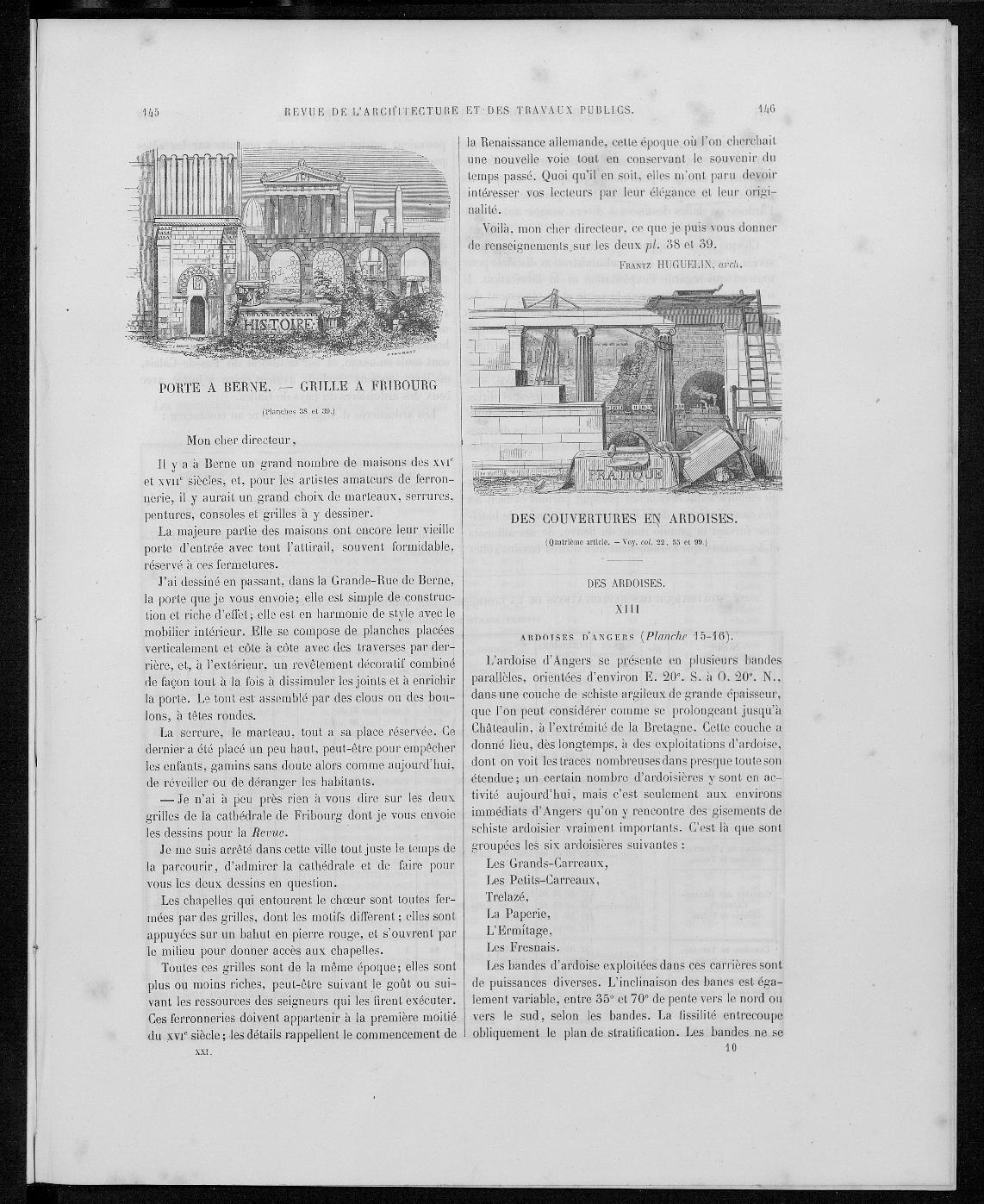 La revue générale de l'architecture, no. 4, 1863 |
