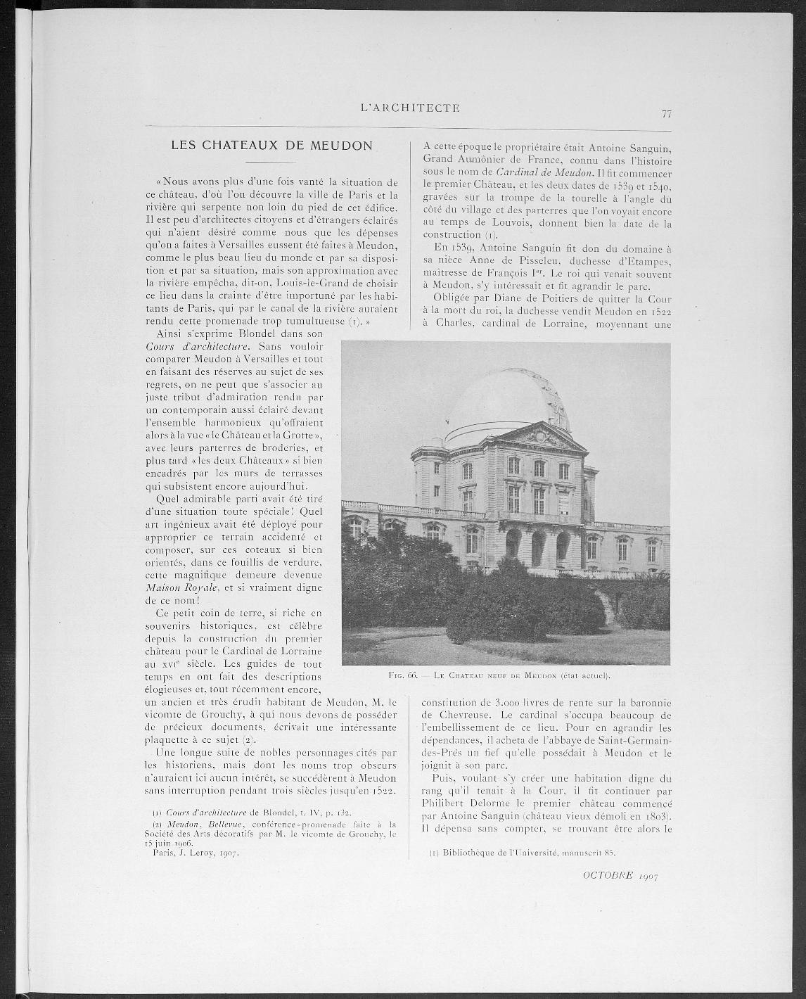 L'Architecte, no. 10, 1907 |
