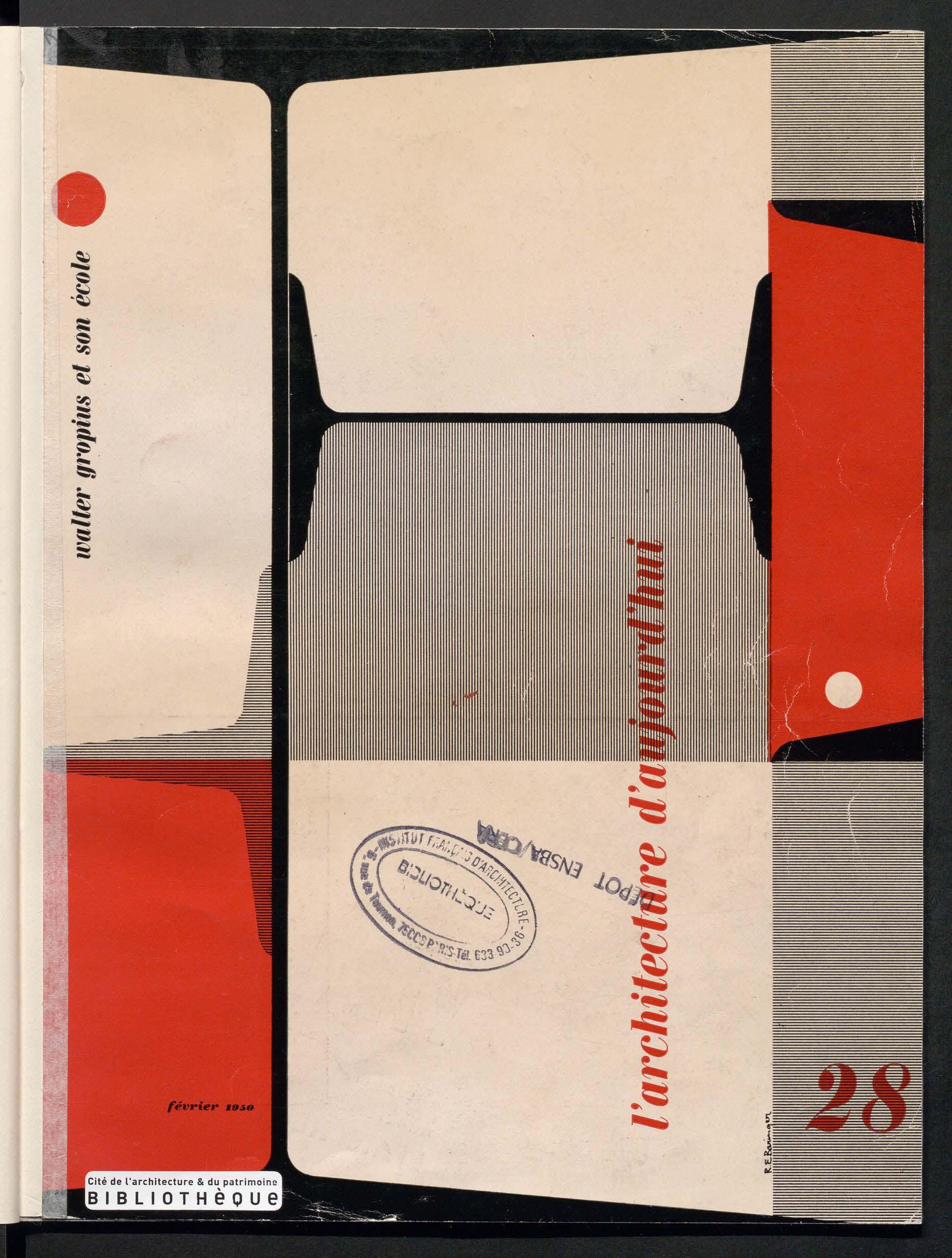 L'Architecture d'aujourd'hui, no. 28, 1950 |