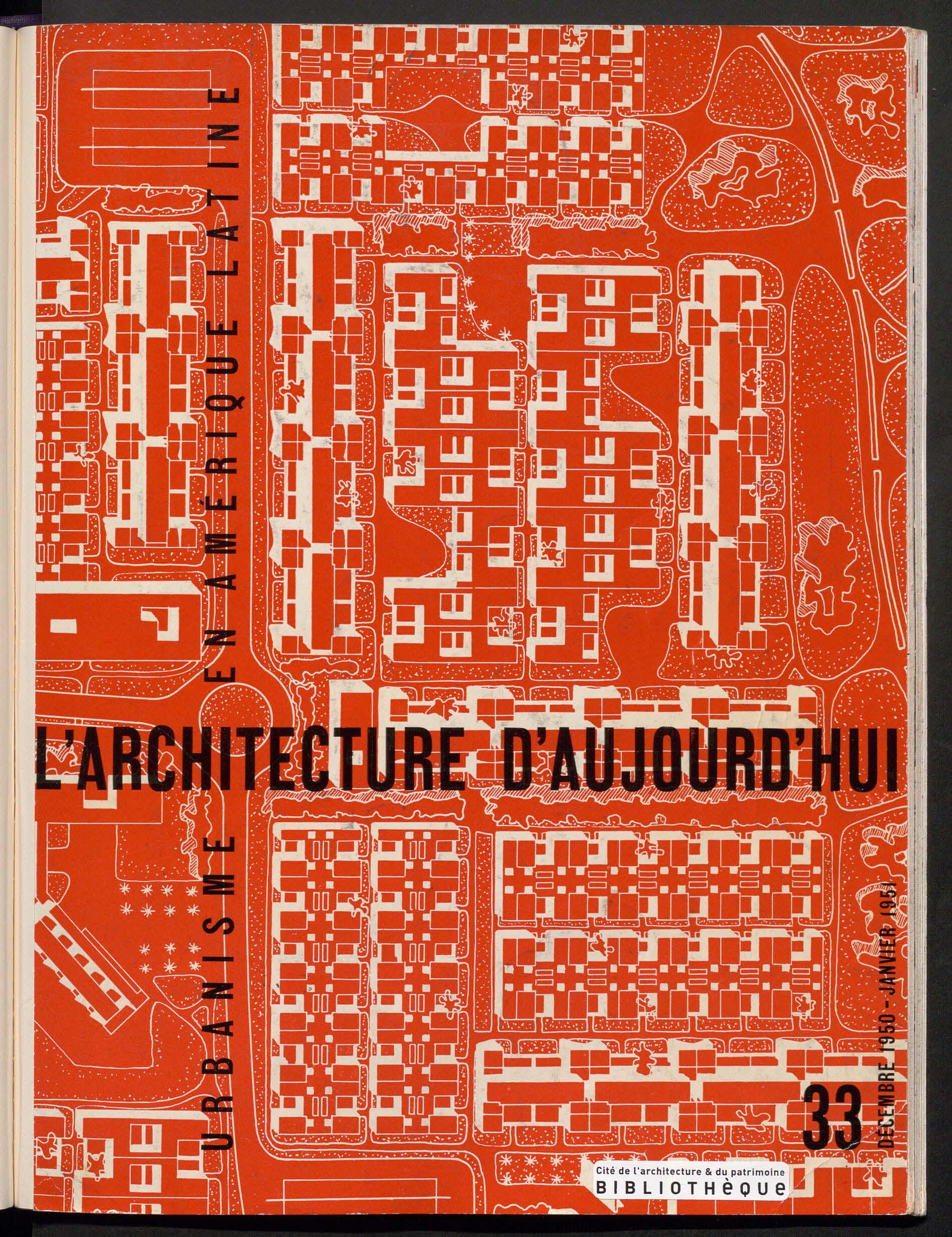 L'Architecture d'aujourd'hui, no. 33, 1950 |