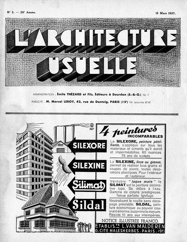 L'Architecture usuelle |